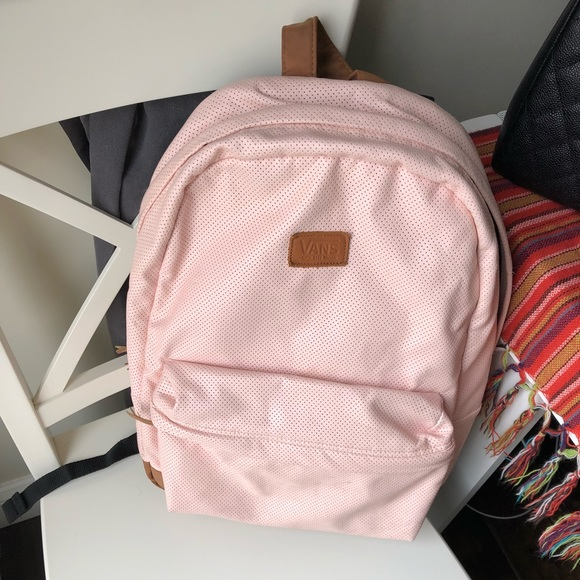 Vans baby pink backpack. M 5a6394eb8df470ec312e2420 020873a737e31